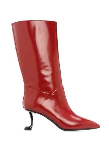 Marni Çizme Kırmızı